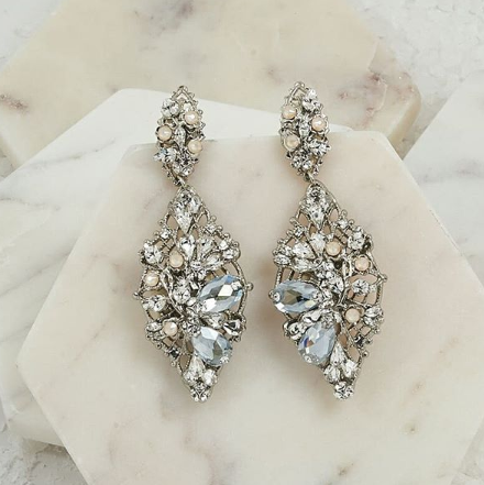 styling for your Orlando wedding with erin cole earrings and accessories