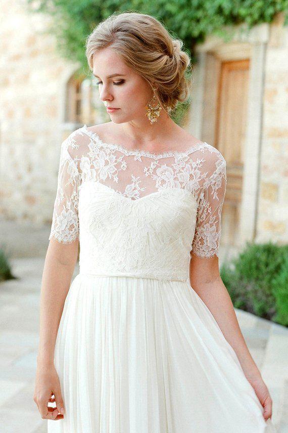 lace bolero bridal lingo