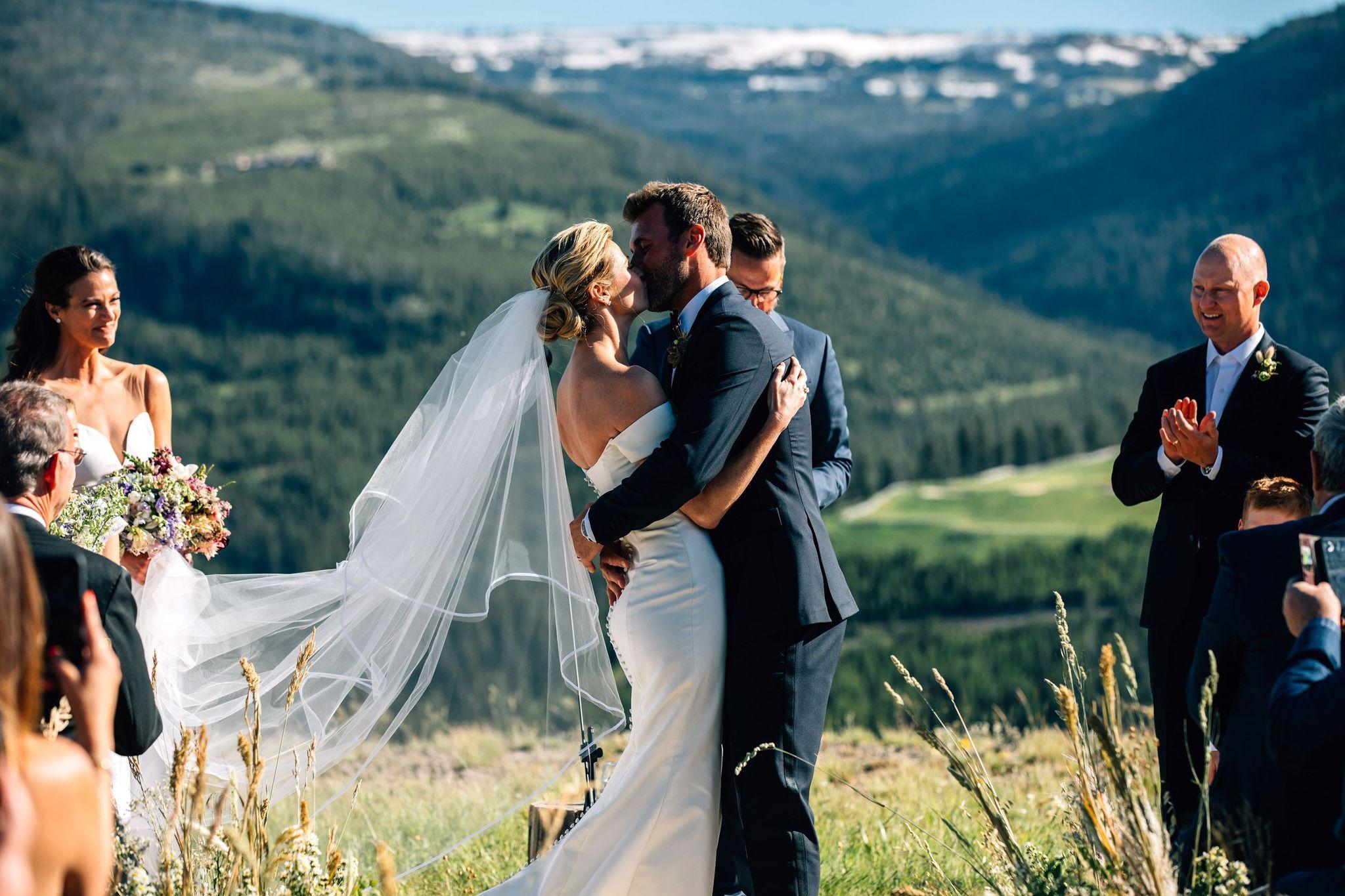 Carolina herrera wedding gown Gretta Gown Erin Andrews wedding