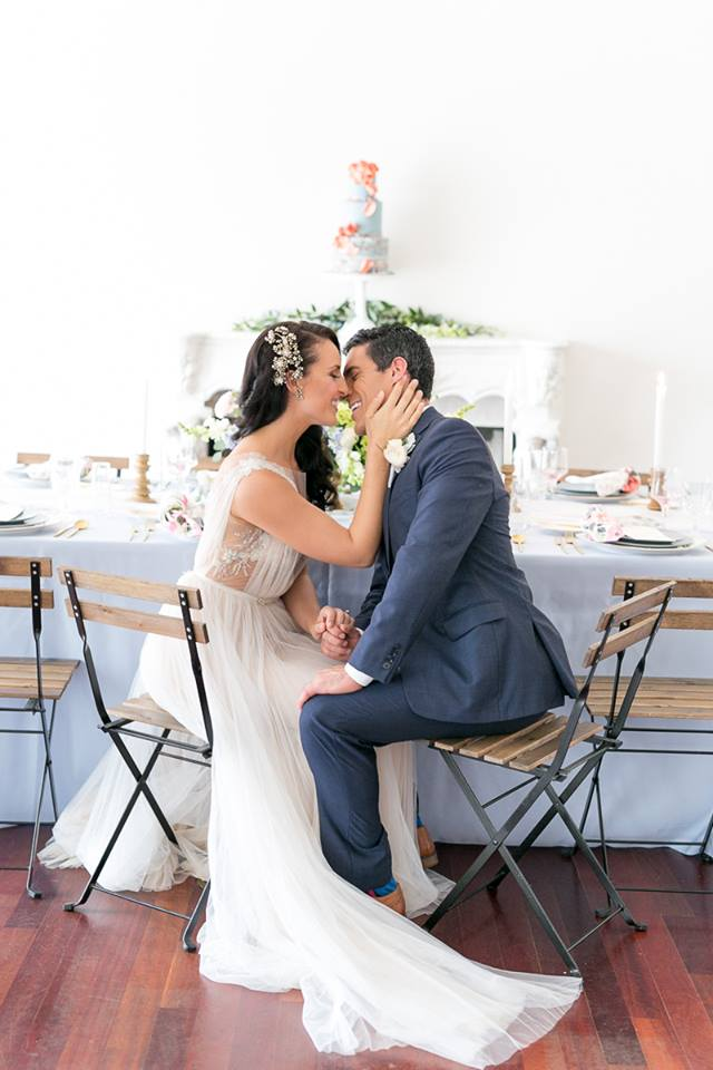 real wedding spring wedding inspiration mira zwillinger gown