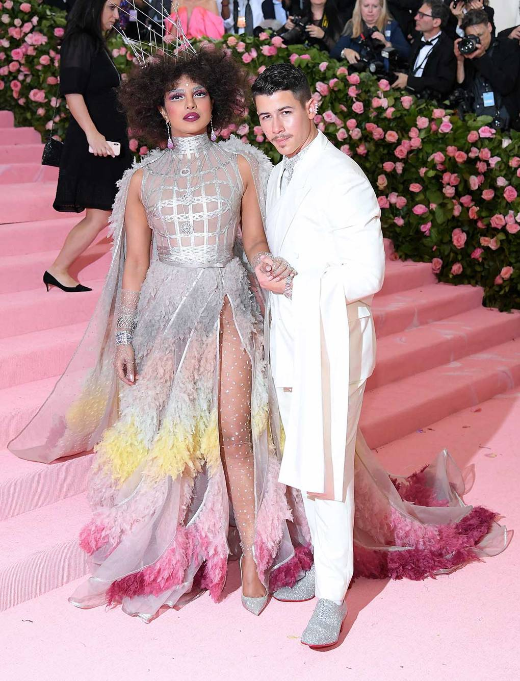 priyanka chopra nick jonas in dior