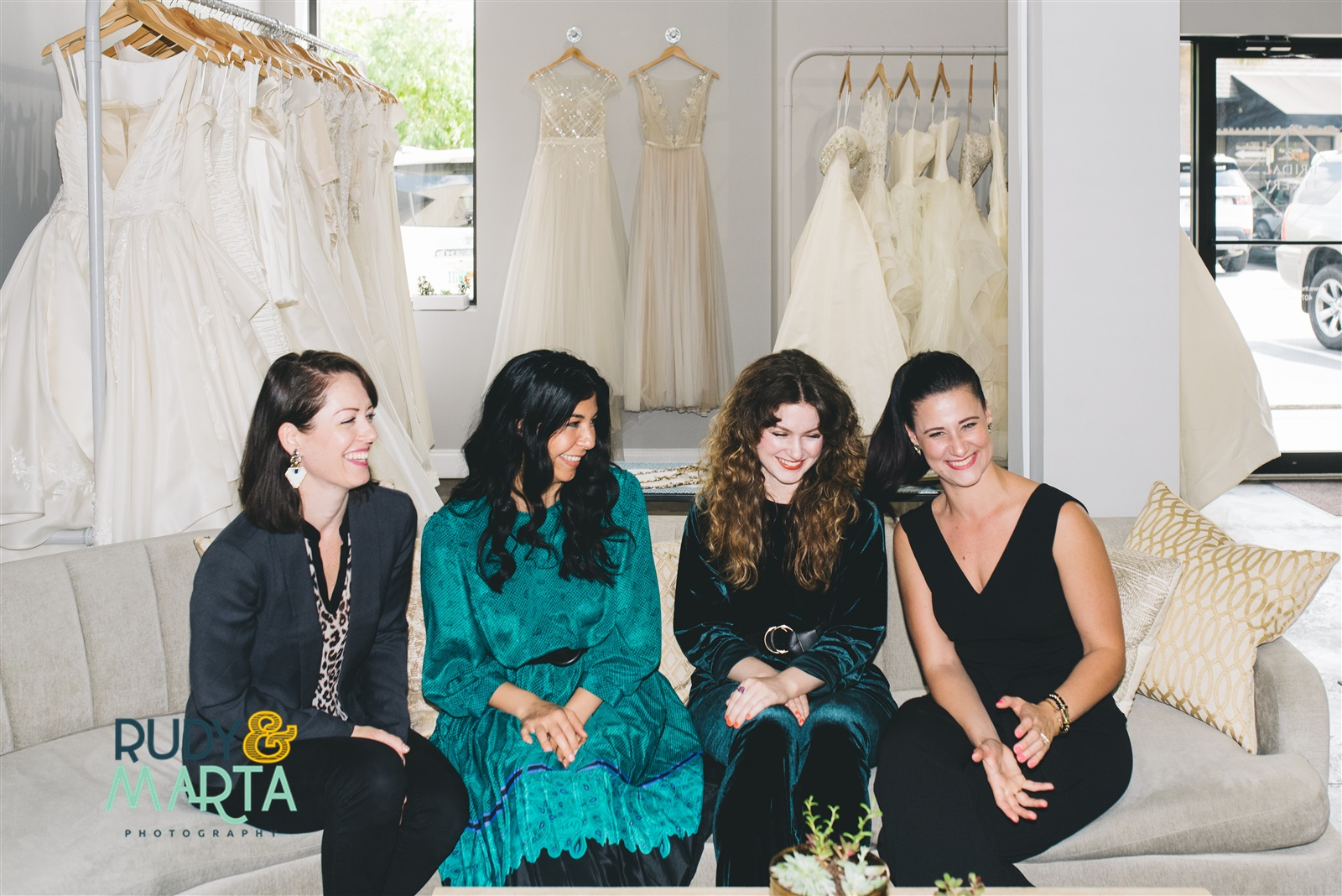 Who We Are - Combined 28 years invested in bridal fashion. This is a real experience created for one bride at a time. And we are on the hunt to find you the perfect dress and accessories.