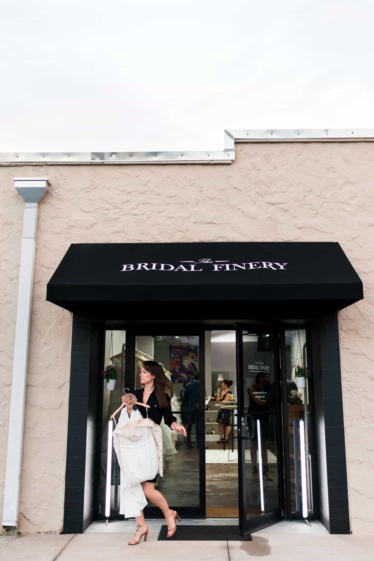 Find your wedding dress on the perfect day… - We believe in booking one bridal appointment at a time. Less is more. Here are recommendations on what pairs well with a bridal appointment at The Bridal Finery.Stay the night at The Alfond Inn. Pick up a tea or coffee at New General. Make it a relaxing morning by booking pedicures at Beautique. Grab a pastry at Buttermilk Bakery. Enjoy your bridal appointment. Stop by the Heavy to see their flower bar. Have a celebratory dinner on the lake at Hillstone or a casual dine at The Porch.