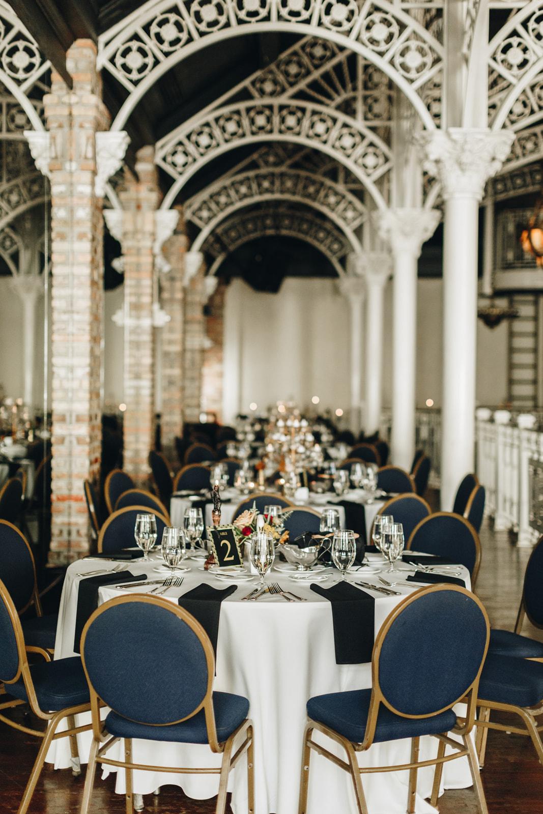 downtown orlando decor wedding reception at orchid garden