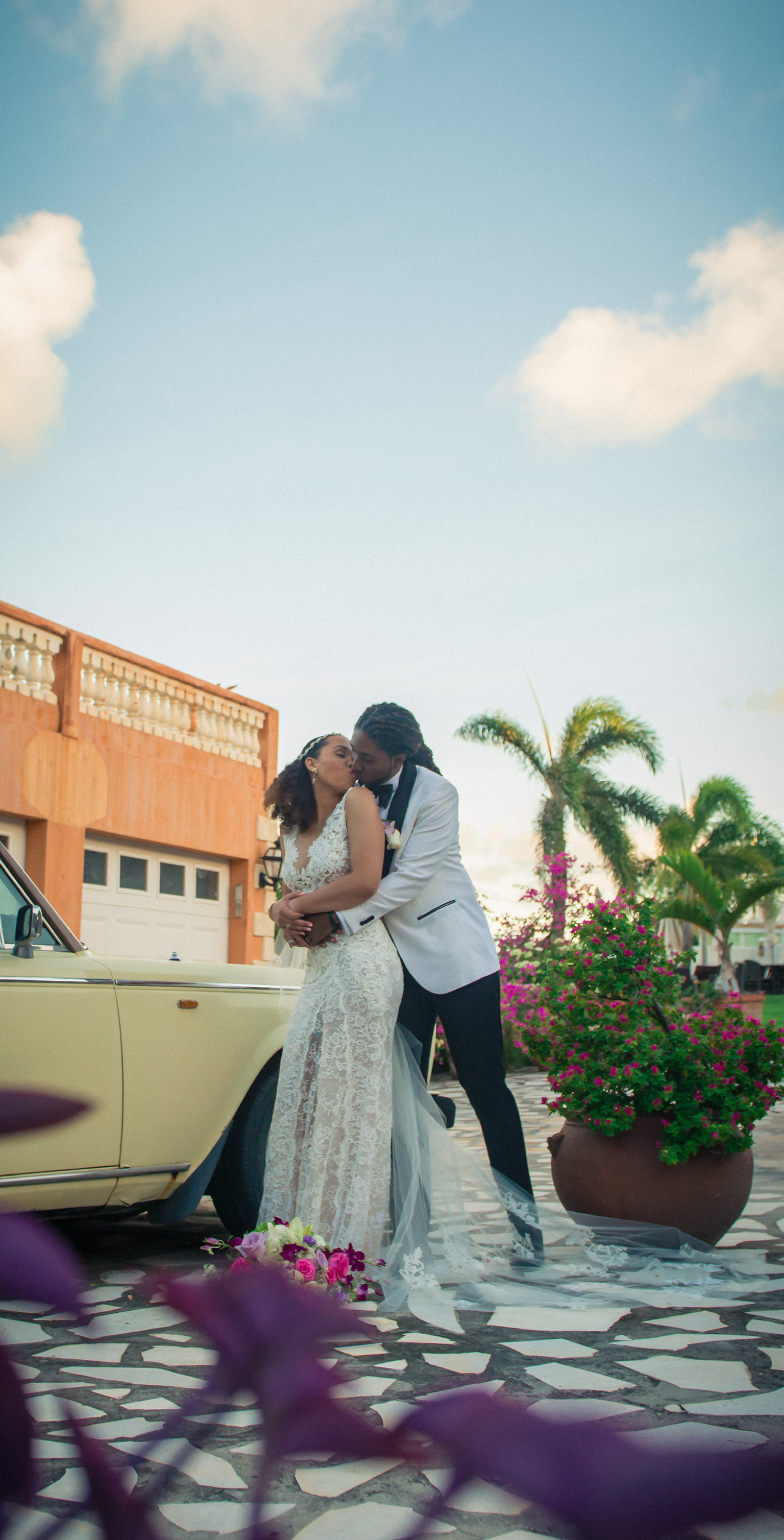 st kitts island destination wedding ines di santo real bride