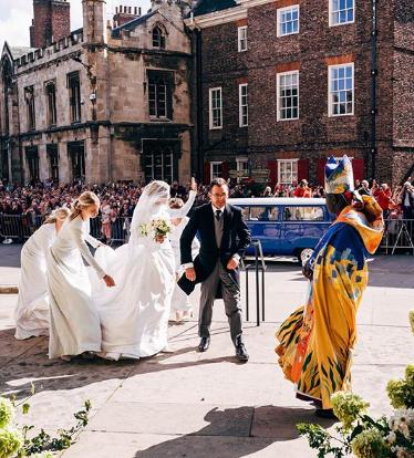ellie goulding wedding west minister