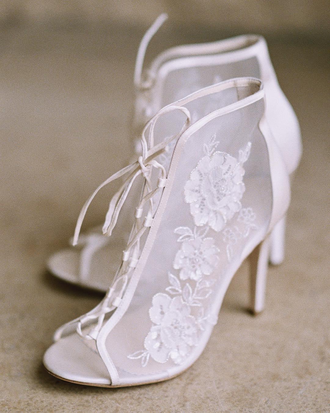 bella belle bootie heels
