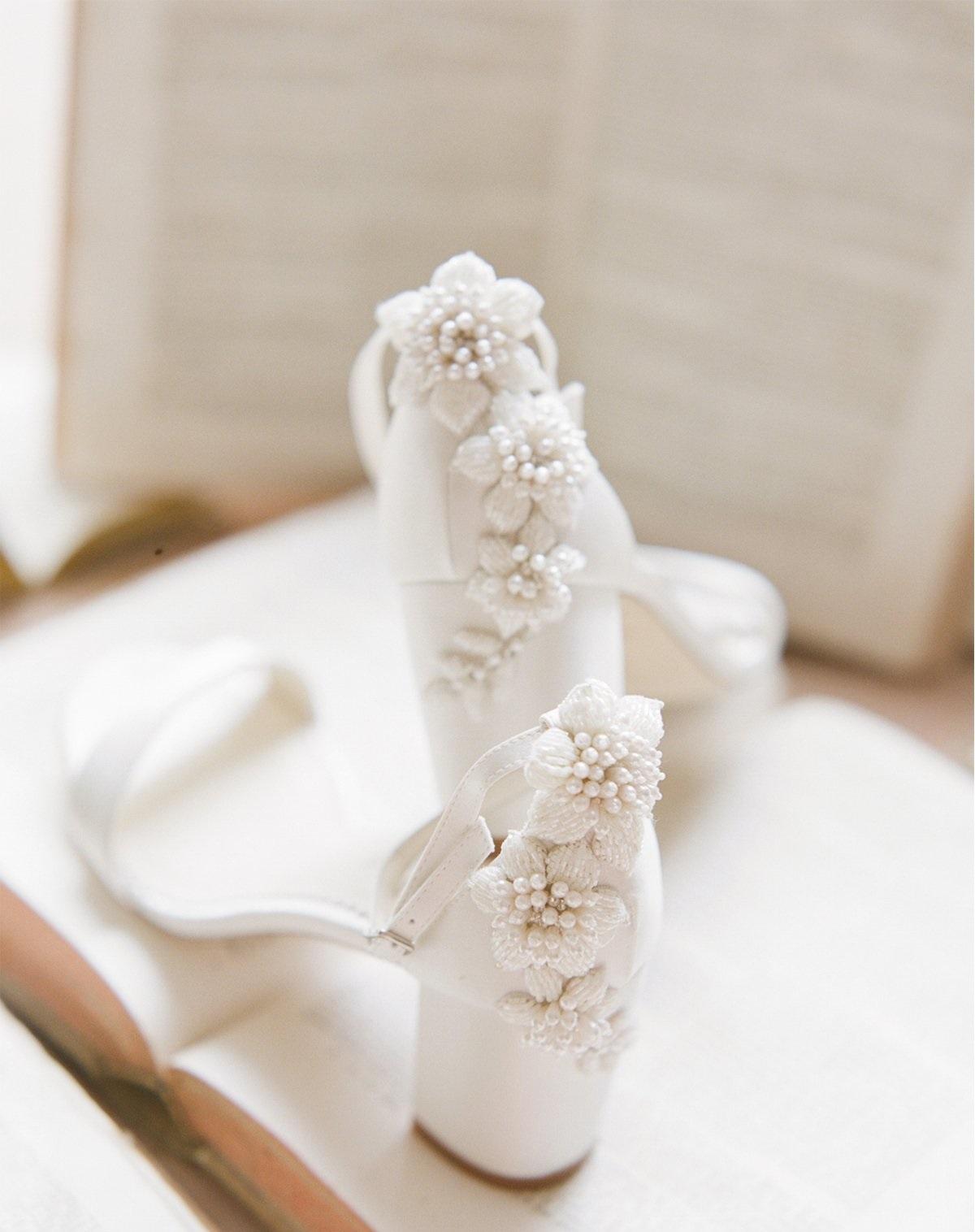 fabiola heel block heel wedding shoes