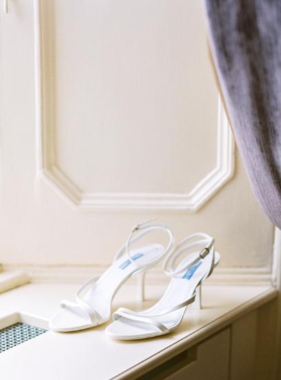 white prada sandal heels bridal wedding shoes