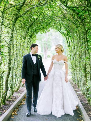 lace monique lhuillier wedding gown alexandra dress offf the shoulder dress