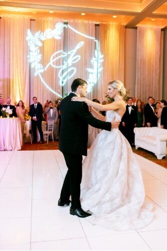 first dance in ireland at catholic wedding reception