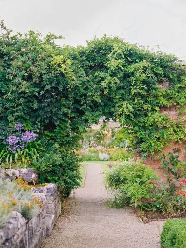 garden ireland wedding at dromoland castle