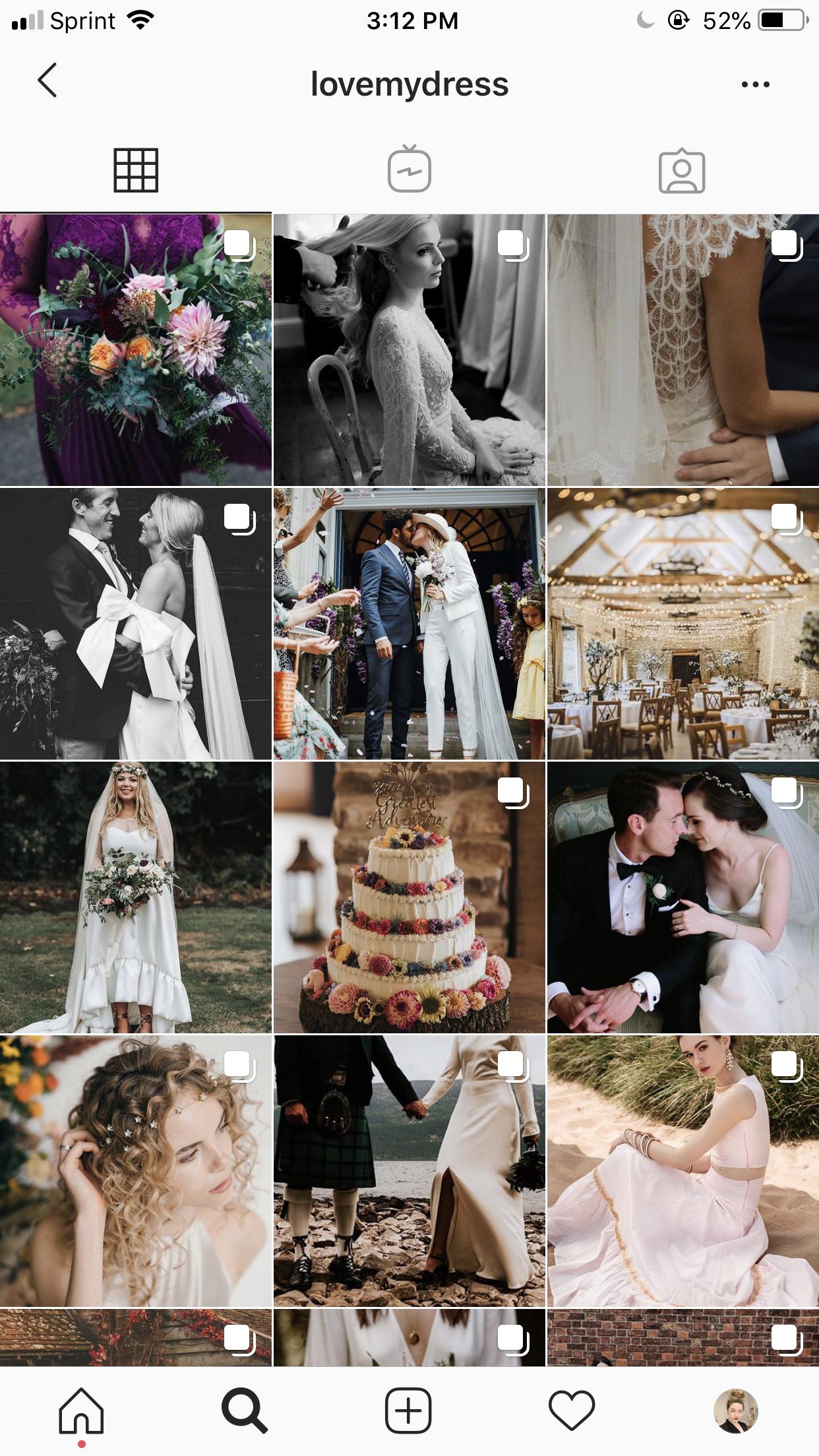 Love my dress wedding blog wedding accounts you need to follow