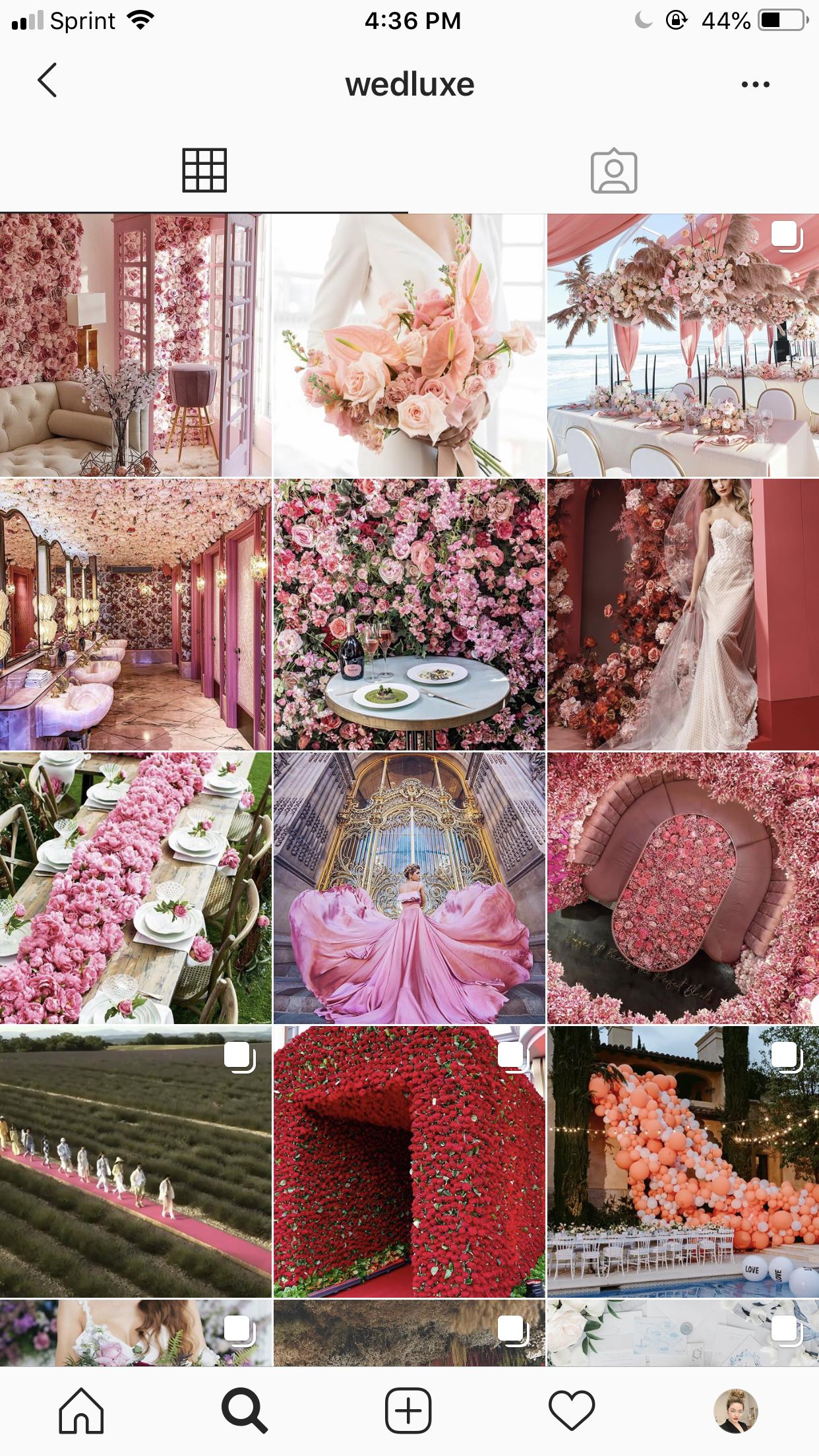 wedluxe bridal blog publication