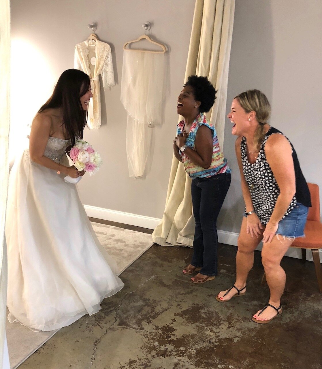 the bridal finery winter park found the perfect wedding gown