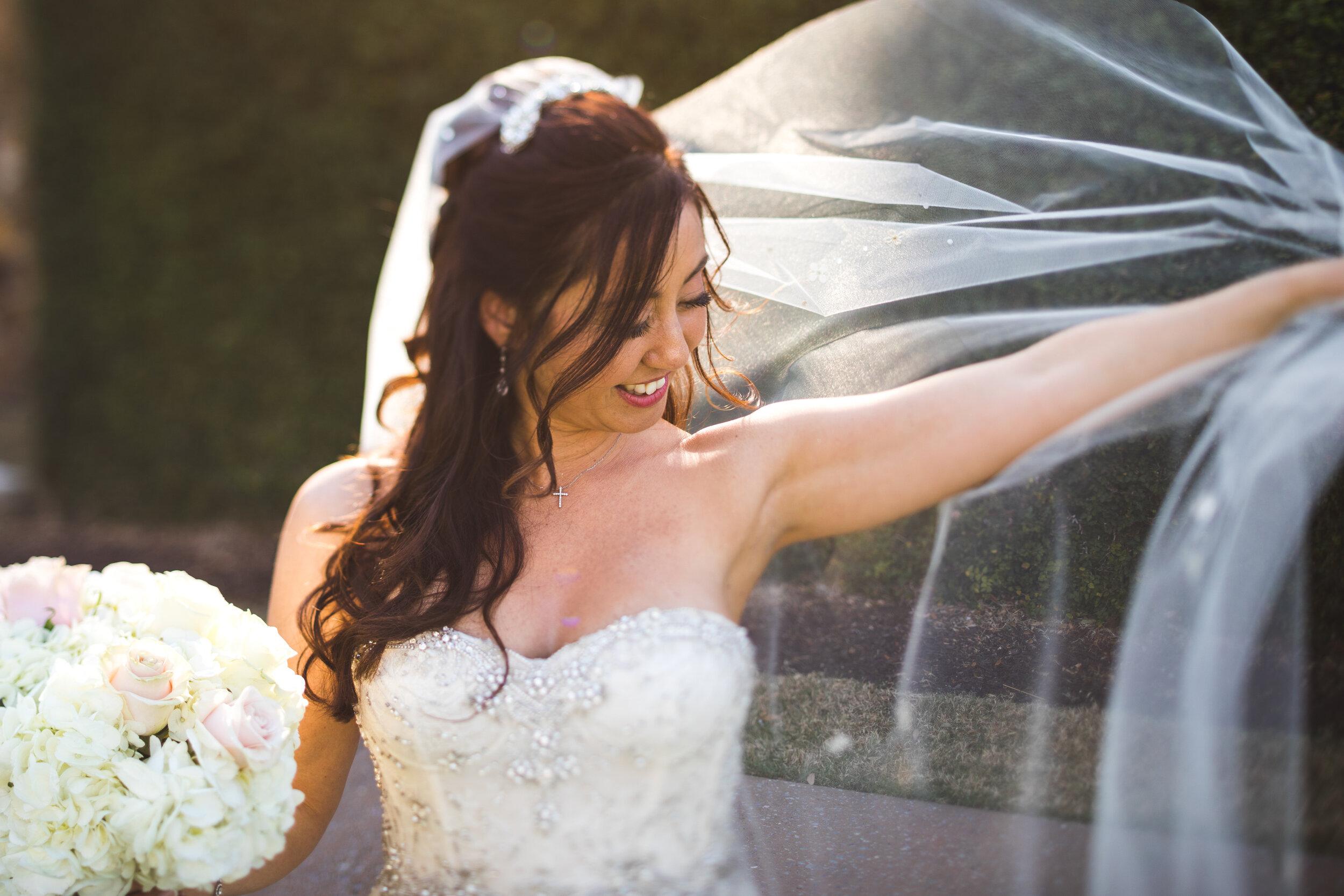 italian wedding at bella collina strapless ball gown