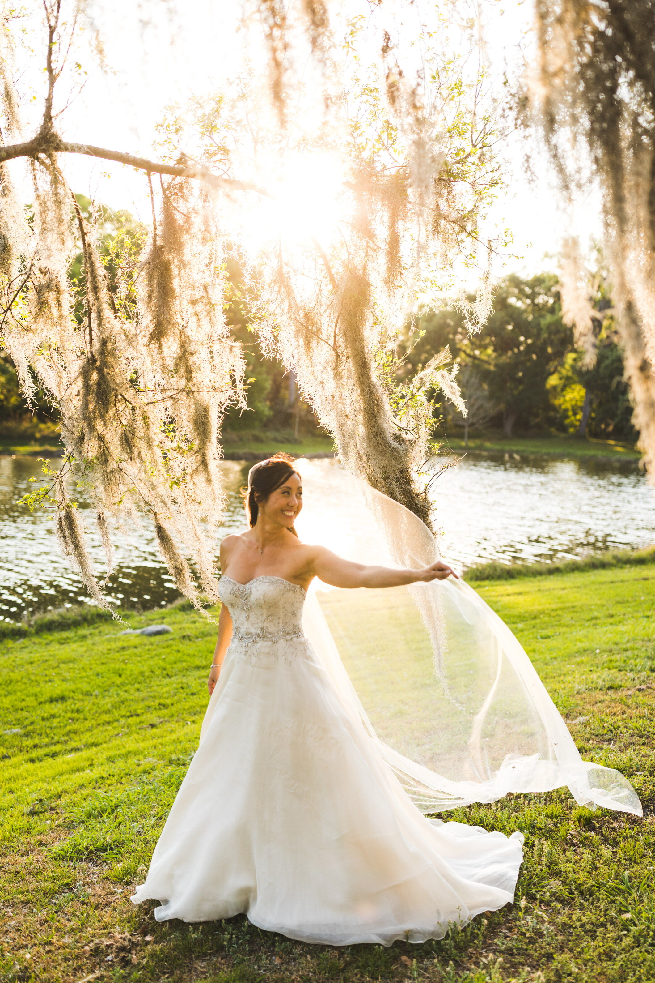 the bridal finery anne barge ball gown outside wedding bella collina italian wedding