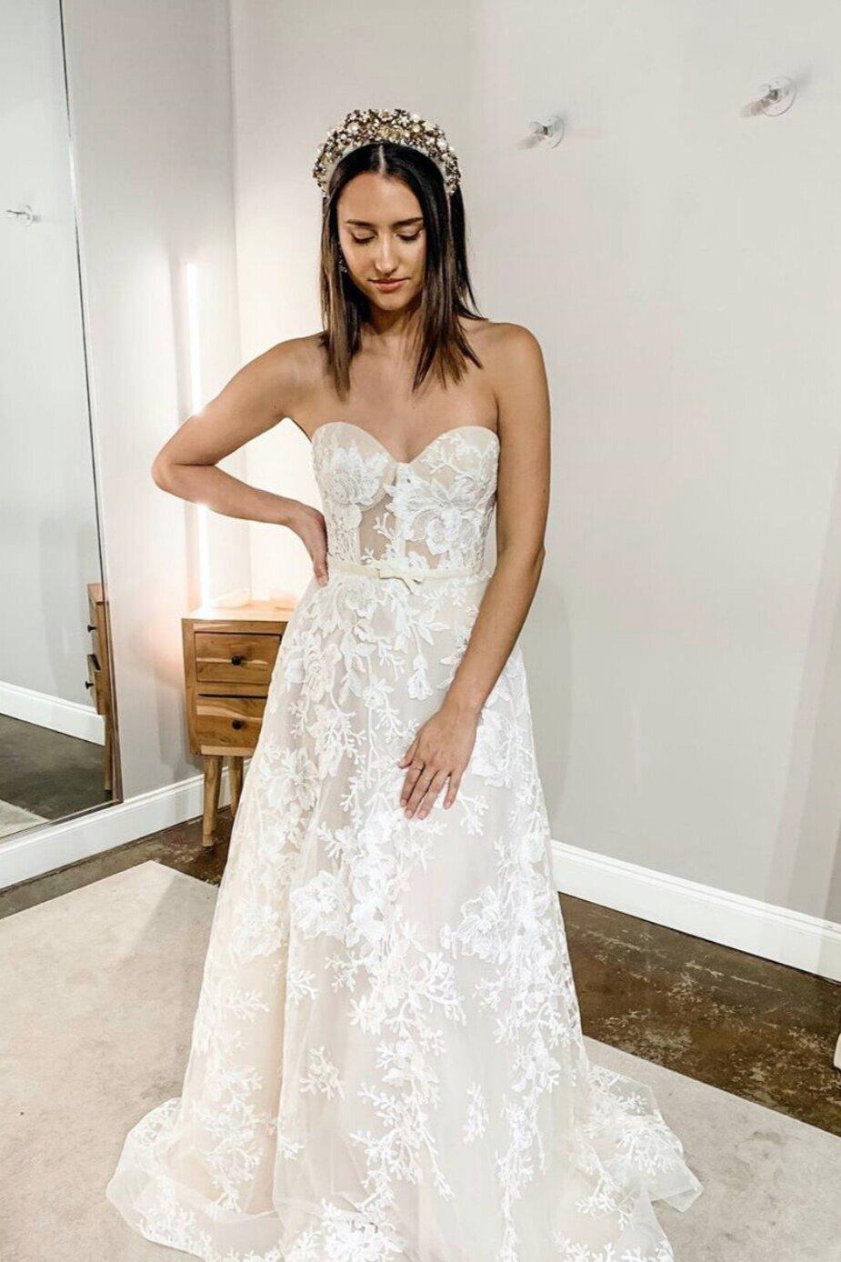 Berta Bridal Wedding Dress at Bridal Shop in Orlando