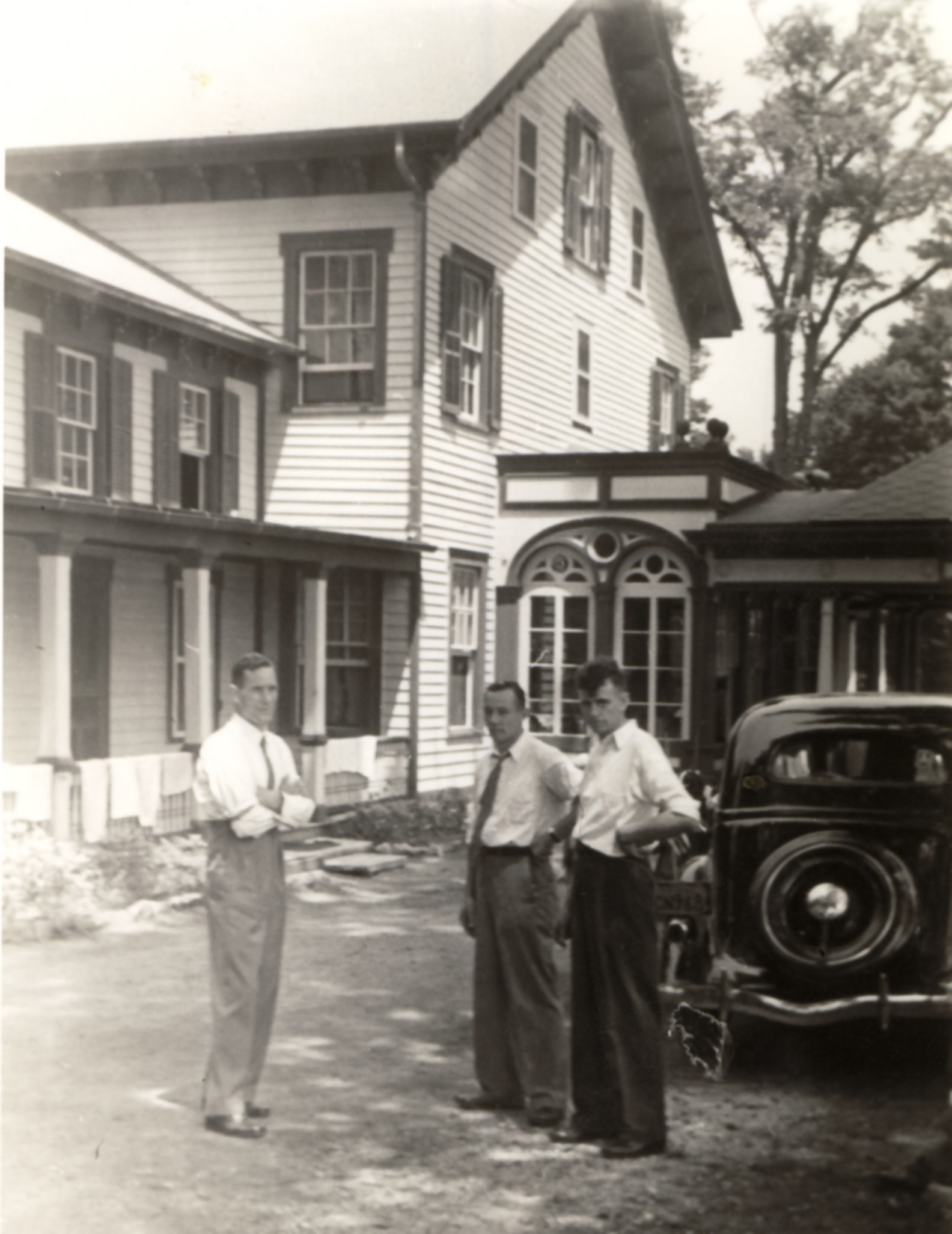"Pictured: July 19, 1942, the founding day of LM USA - formerly ""Ebenezer Mission Home""."