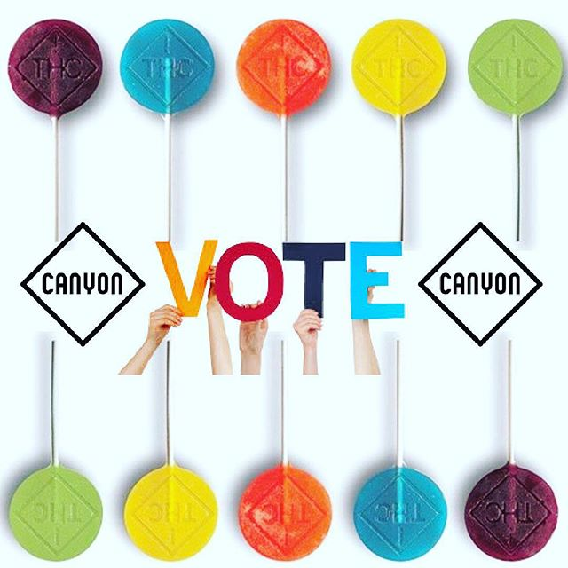 [Link in Bio]  Vote Canyon for 2018 Cannabis Business Awards -Best Edible Company- 💙💚💛💜❤️ Thanks, Colorado! 🙏🏼 #thcsweetlife #weed #thc #cannabisinfused #co2 #edibles #cannabiscommunity #microdose #cbd #vegan #glutenfree #art #colorado #denver #happy #beauty #lollipops #love #weedmaps #leafly #dopemagazine #sensimag #sensilifestyle #customdosing #420 #hightimes #photooftheday #instagood #cute