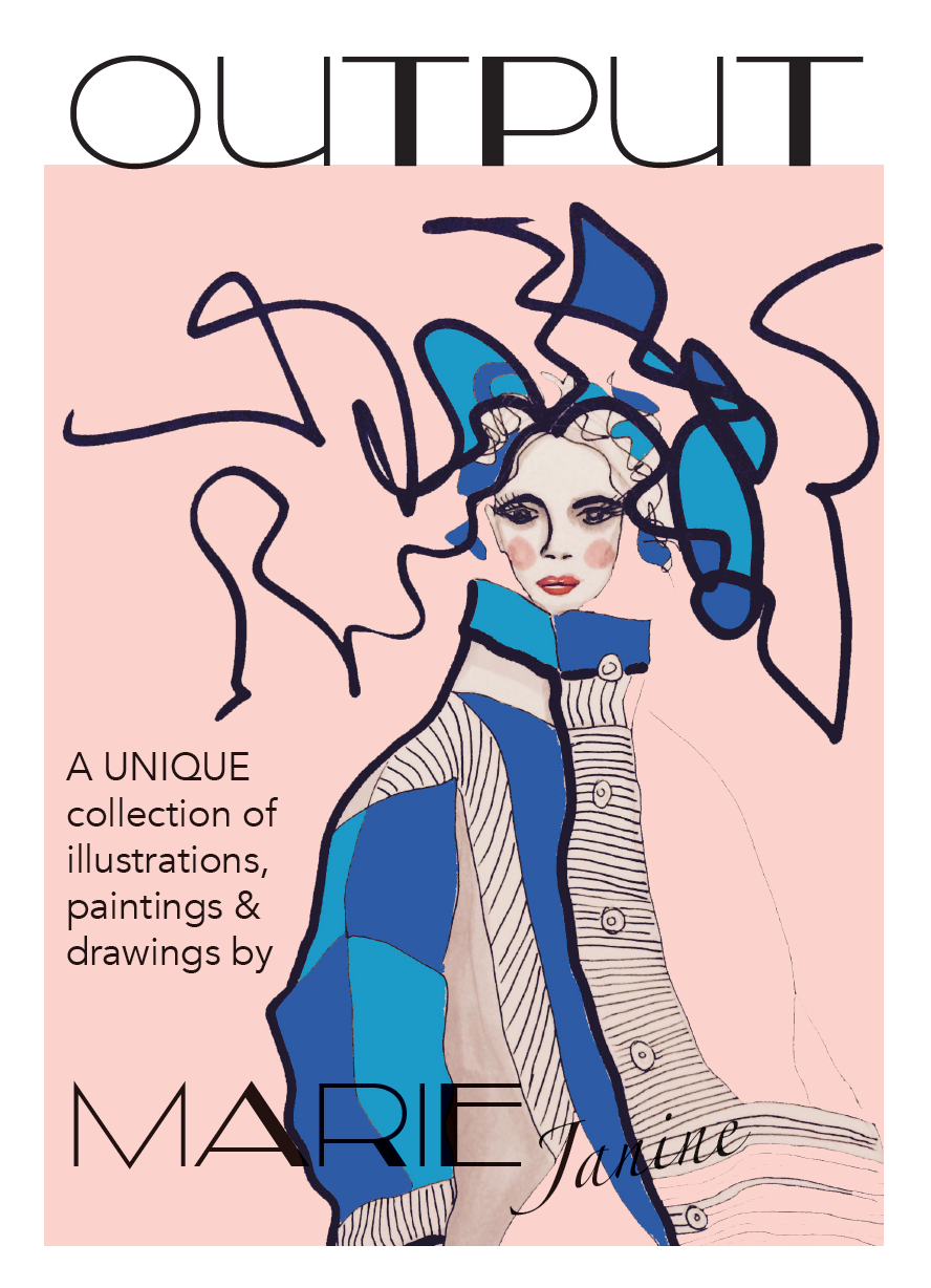 Bringing together selected pieces - Illustrations, drawings, collages, portraits and abstract paintings …Click on the image and flip through the pages.