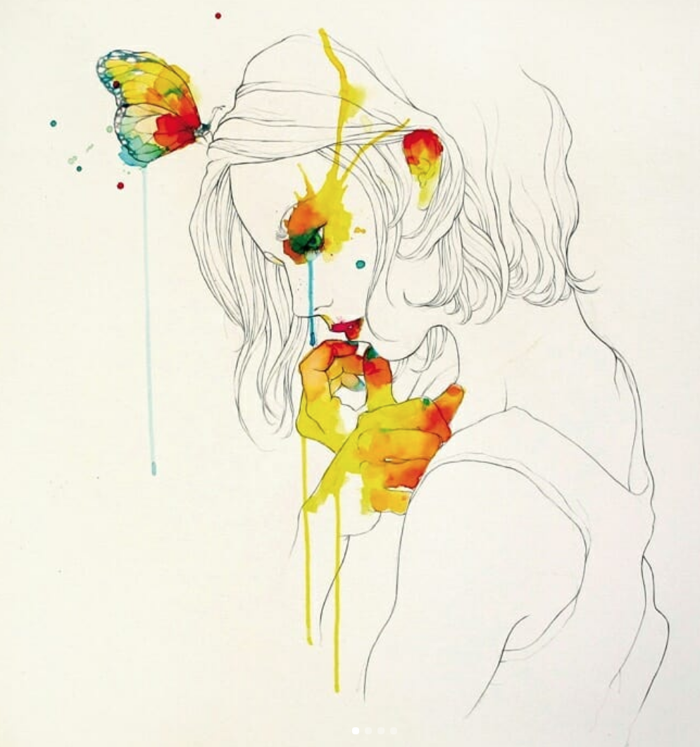 Conrad Roset - My inspiration for watercolours and simple lines