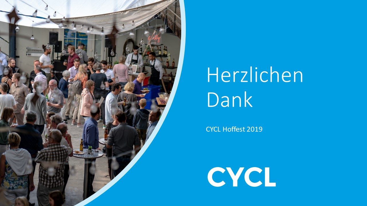 """CYCL Hoffest 2019 - celebrating """"20 Years of Innovation"""" with customers, current and former employees!"""