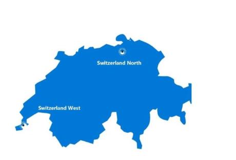 Microsoft Datacenter - Switzerland Nort&West