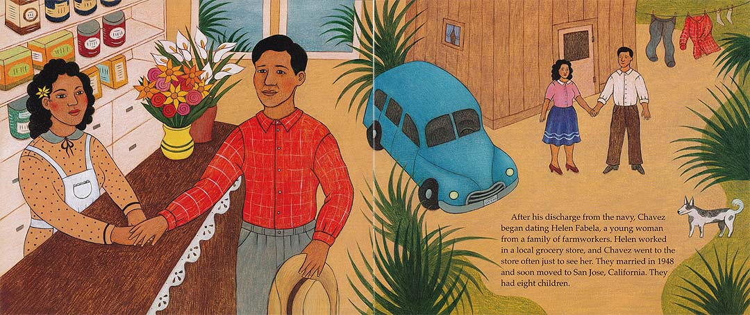 Picture Book of Cesar Chavez