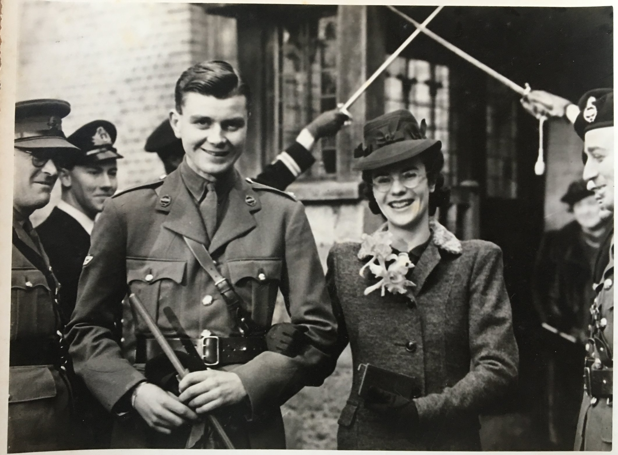 1940 - Wartime wedding - marrying Michael Franklin