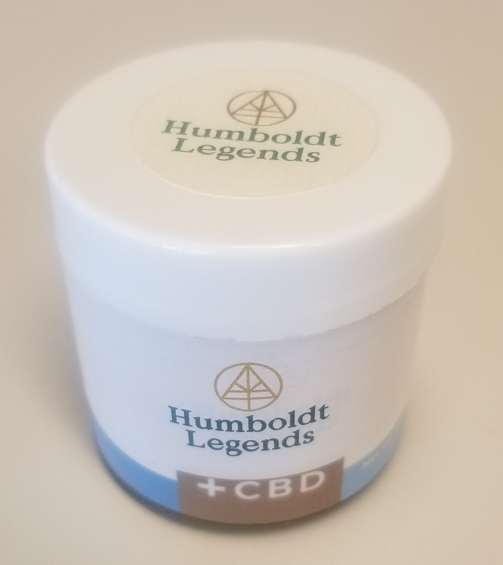 Humboldt Legends Medicated Herbal Topical Cream with CBD - Medicated Skin Care Product Contains CBD