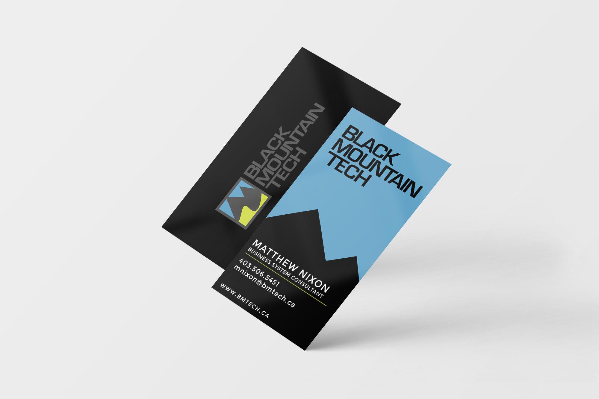 Business Card : Black Mountain Tech