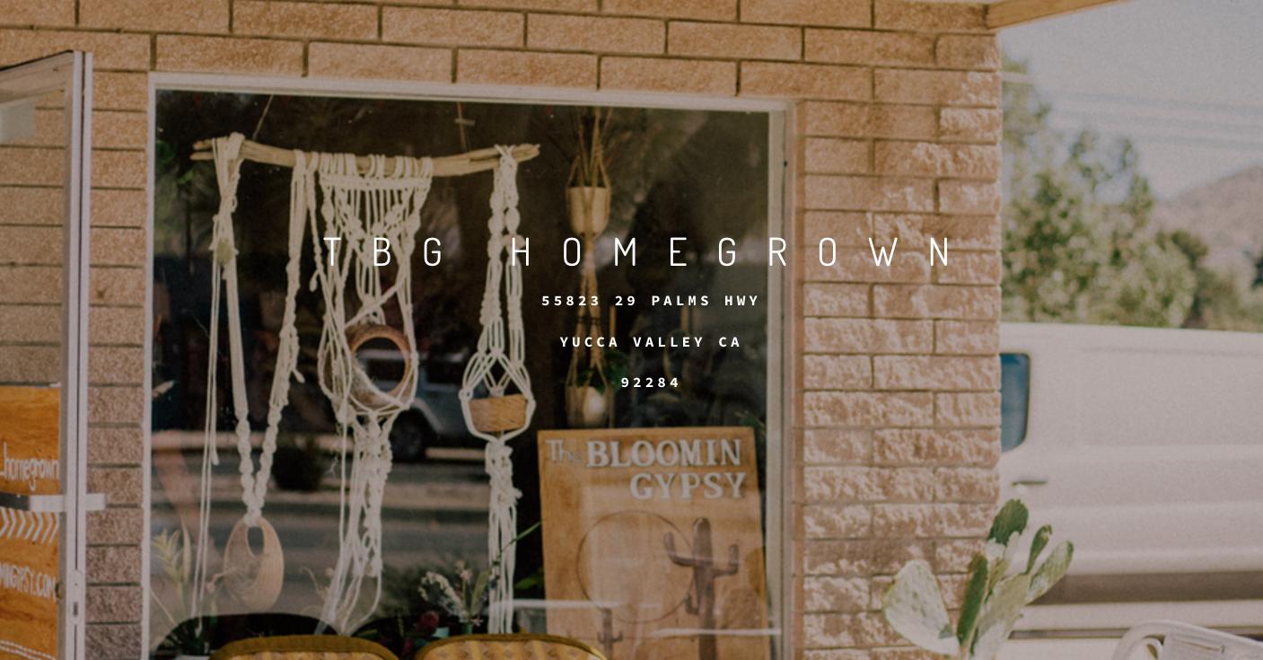 TBG homegrown