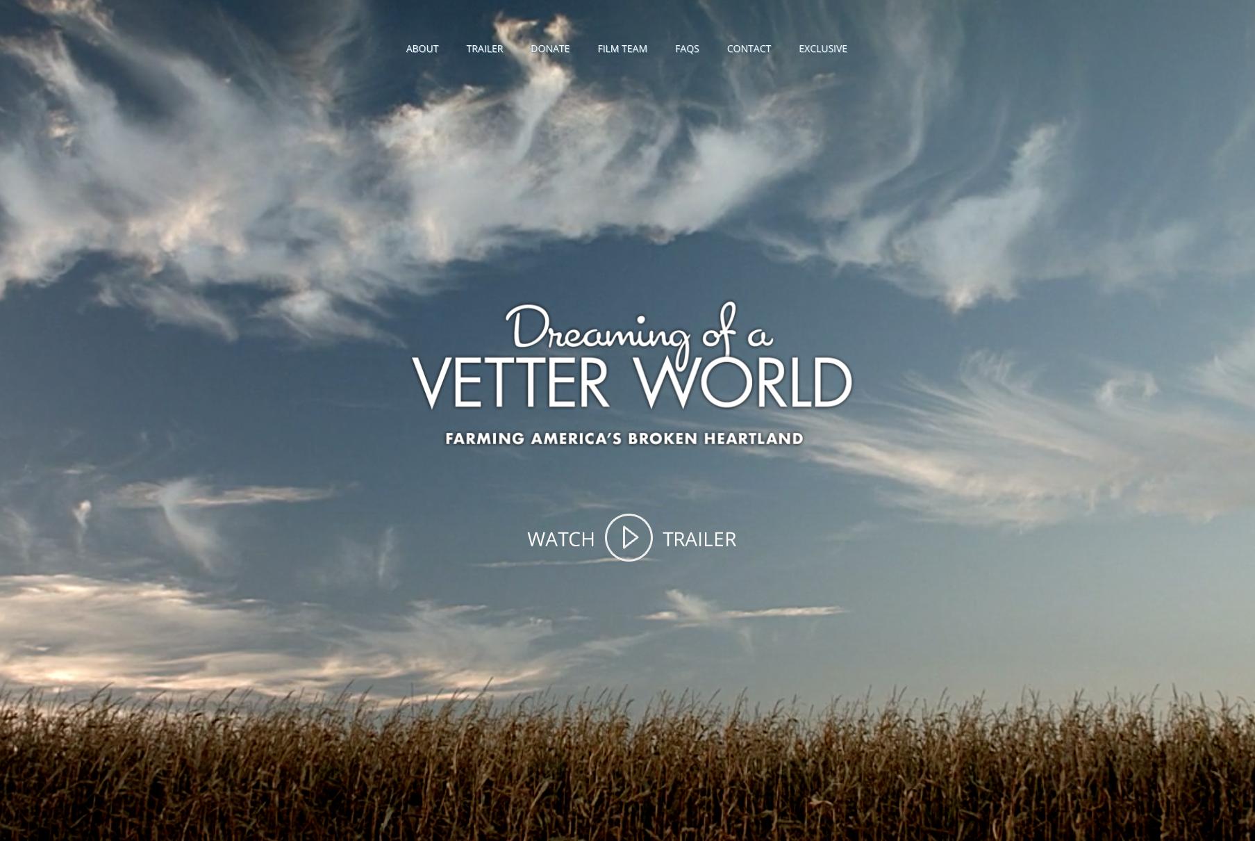 Dreaming of a Vetter World