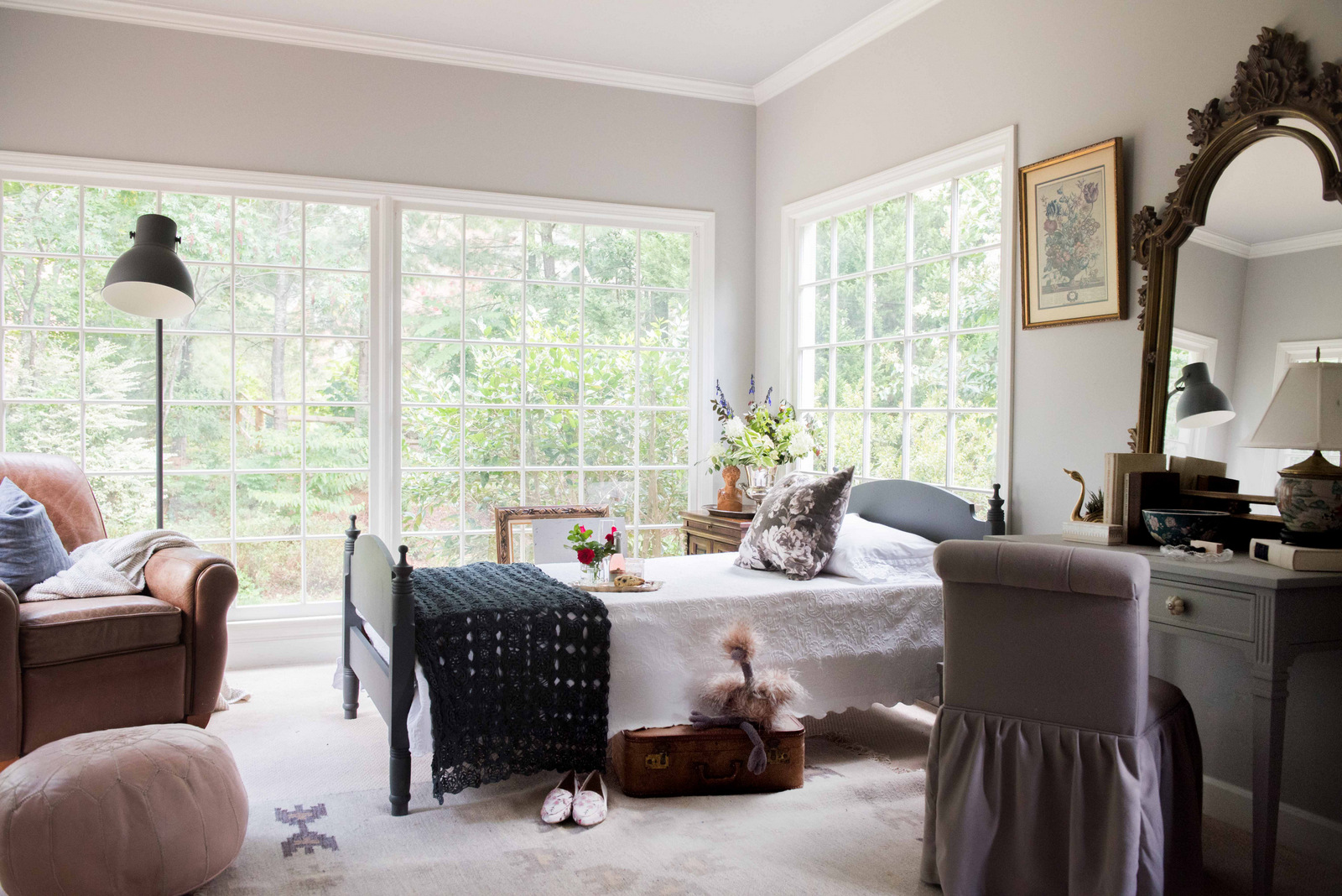 The Romantic Floral Guest Bedroom
