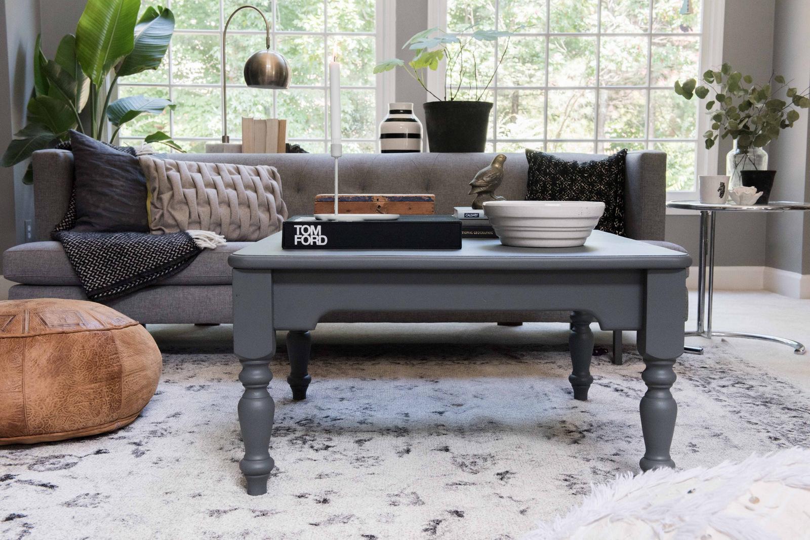 Gray Wood Table