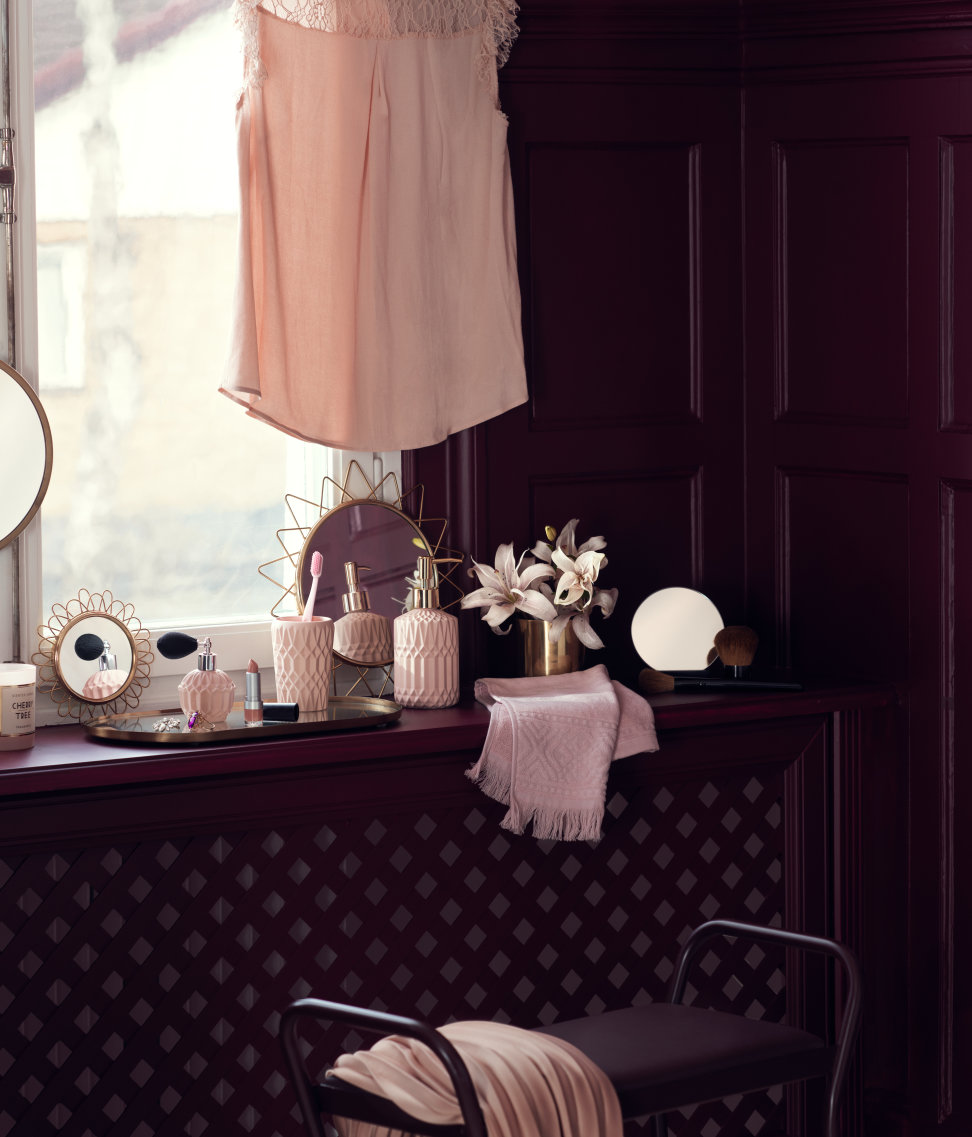 Pink at home