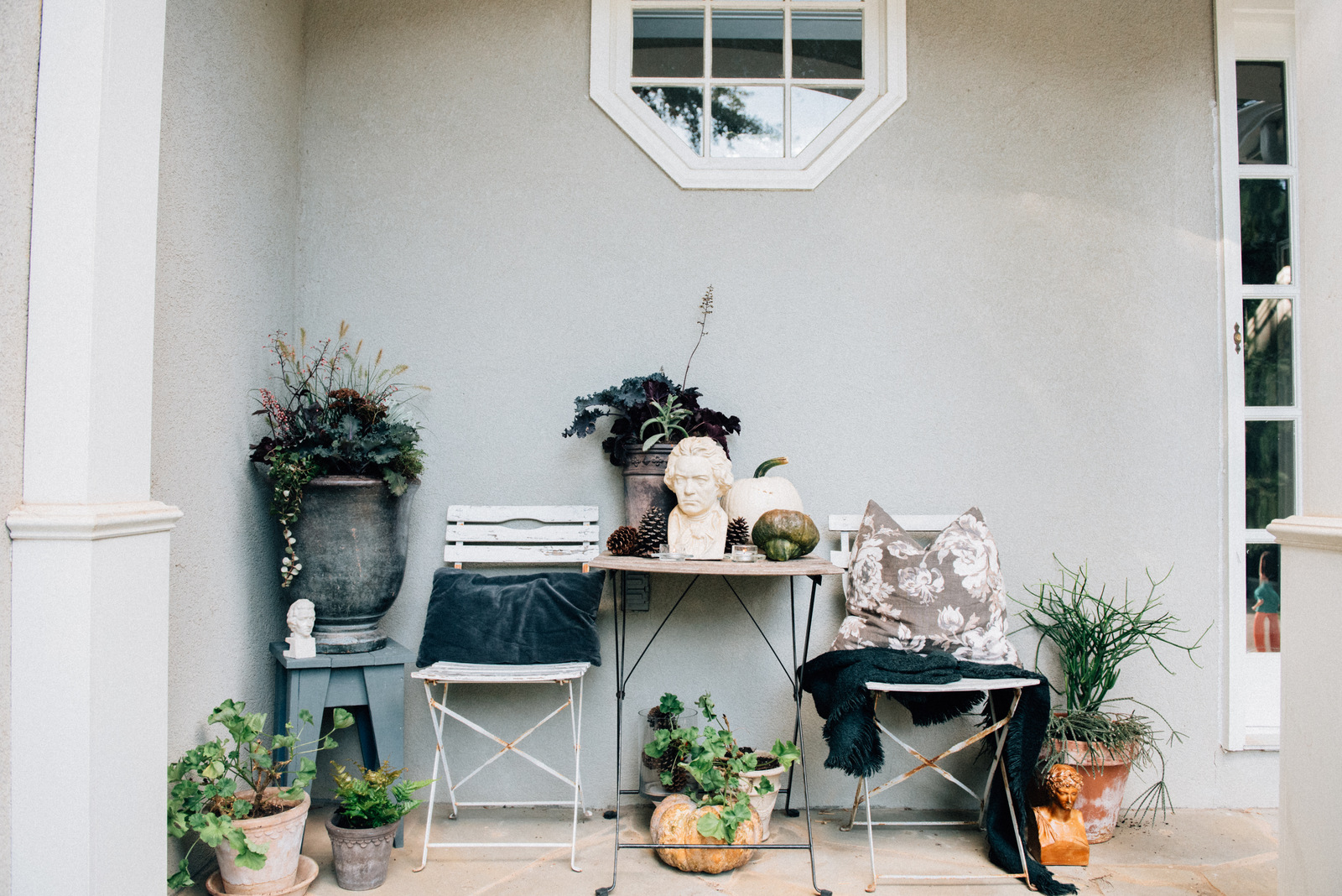 Haunted House Porch Decorations | House of Valentina.jpg