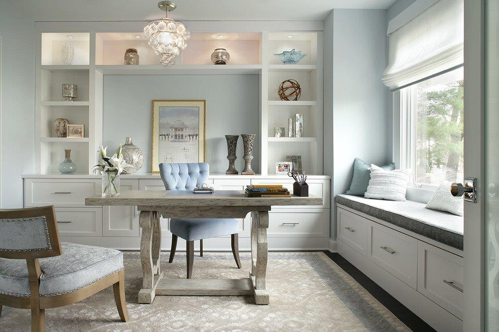 Bay-window-furniture-home-office-transitional-with-pastel-blue-walls-white-roman-shade-7.jpg