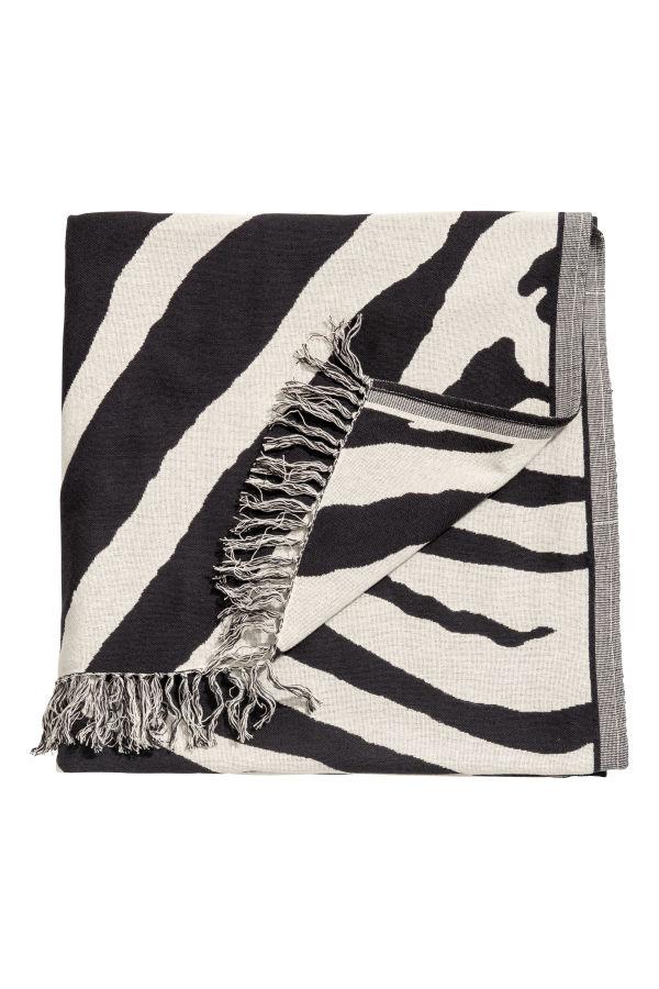 Zebra Throw