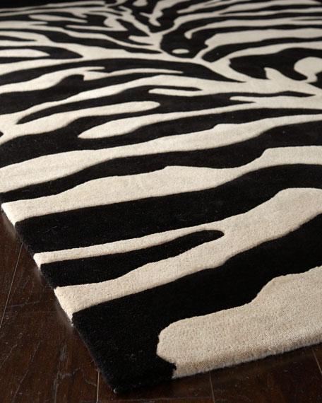NO Zebra Rug