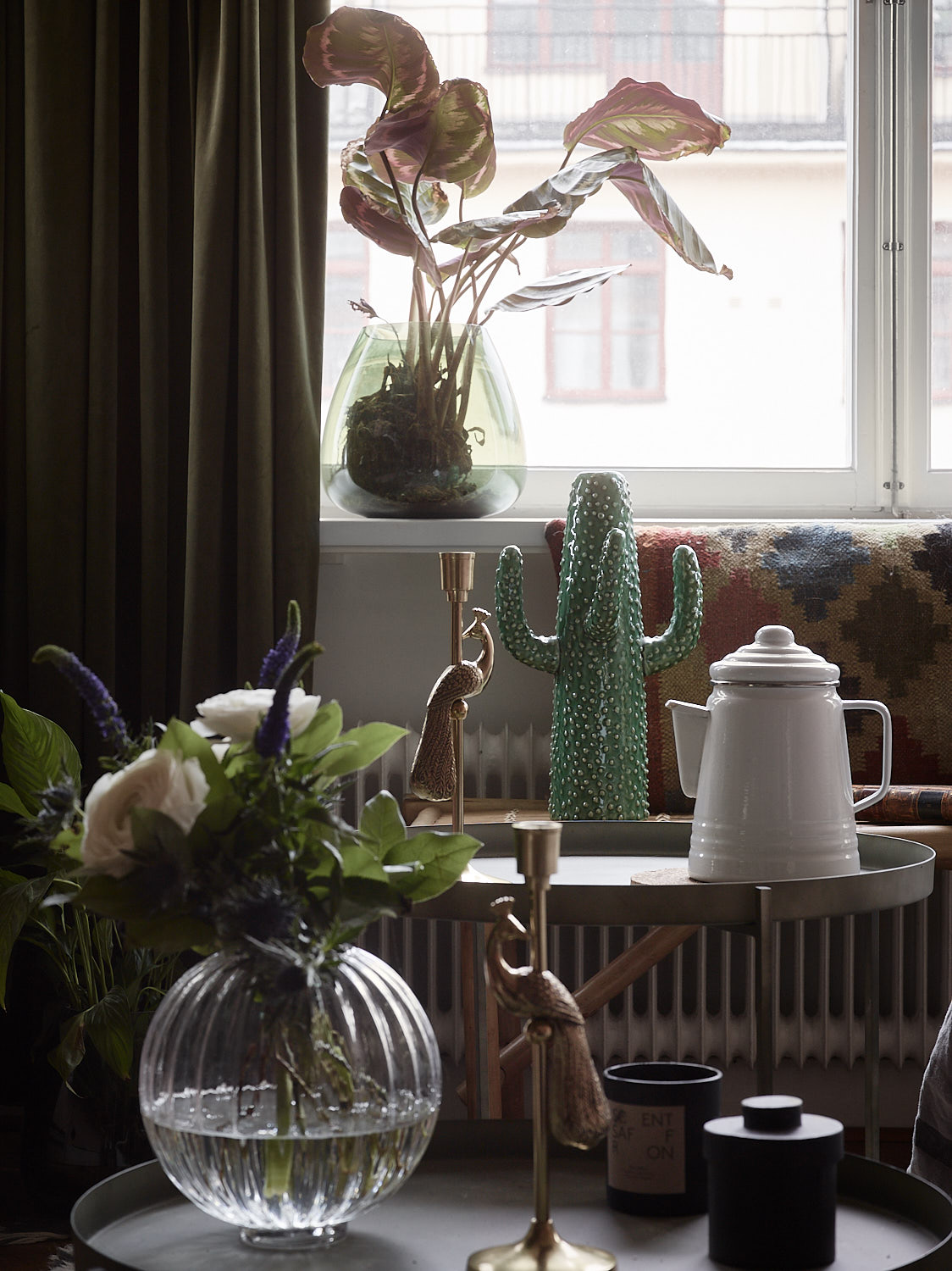 10. Mix Your Designer Pieces W/Inexpensive Ones from places like H&M Home