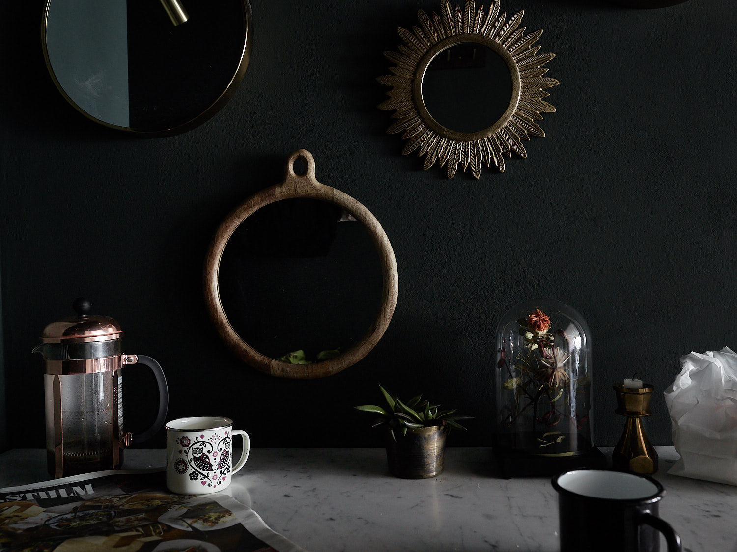 13. A Few Well Placed Objects Will Make a Space Feel Elevated & Chic