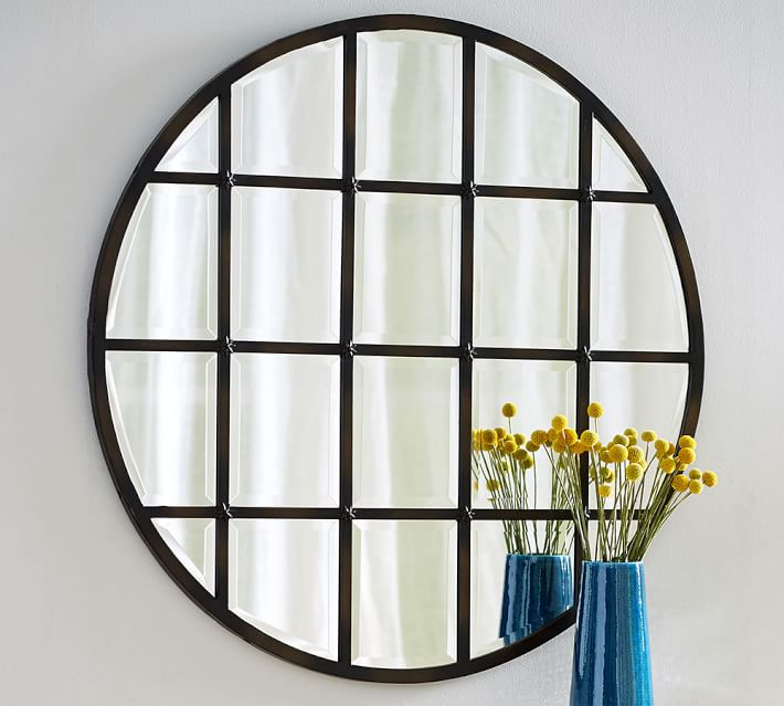 Paned Mirror