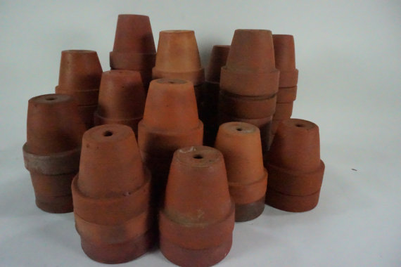 Vintage Clay Planter