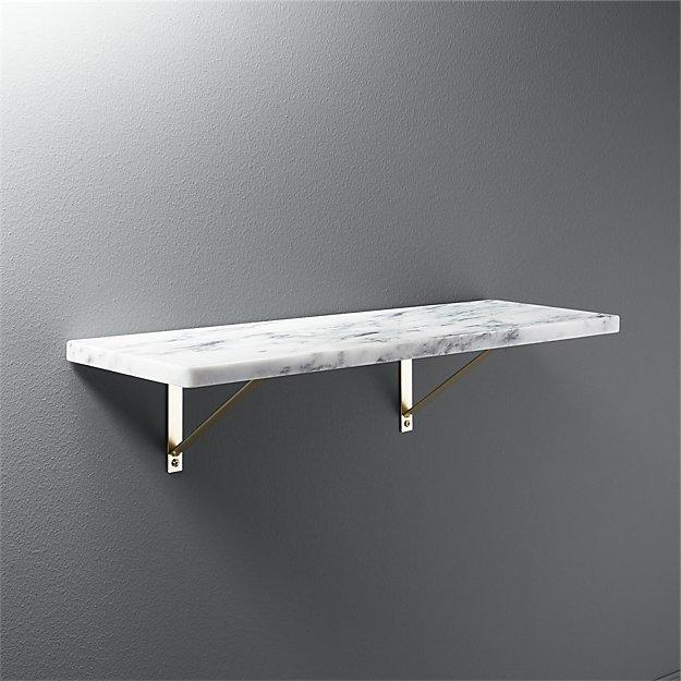 Marble Shelf