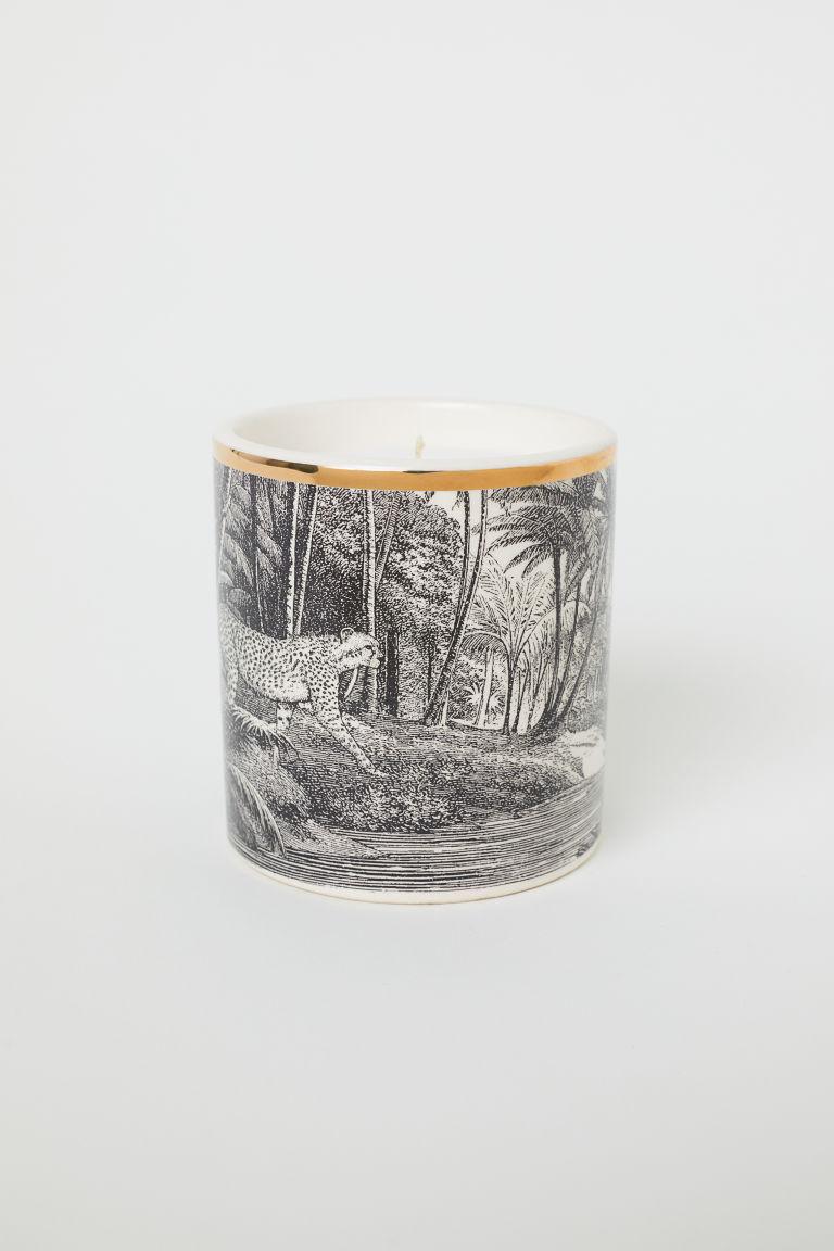 Tiger Jar Candle