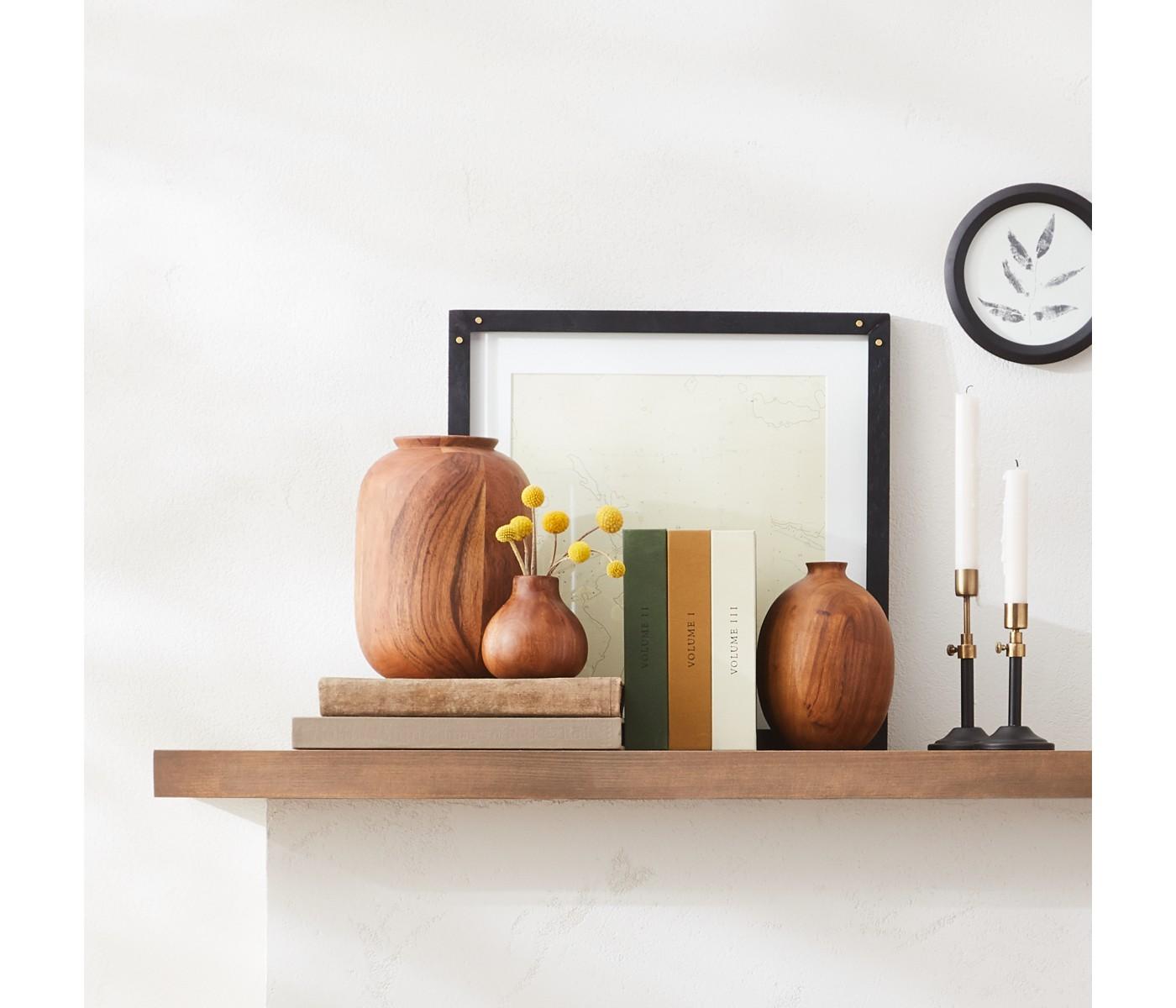 Wood Vases