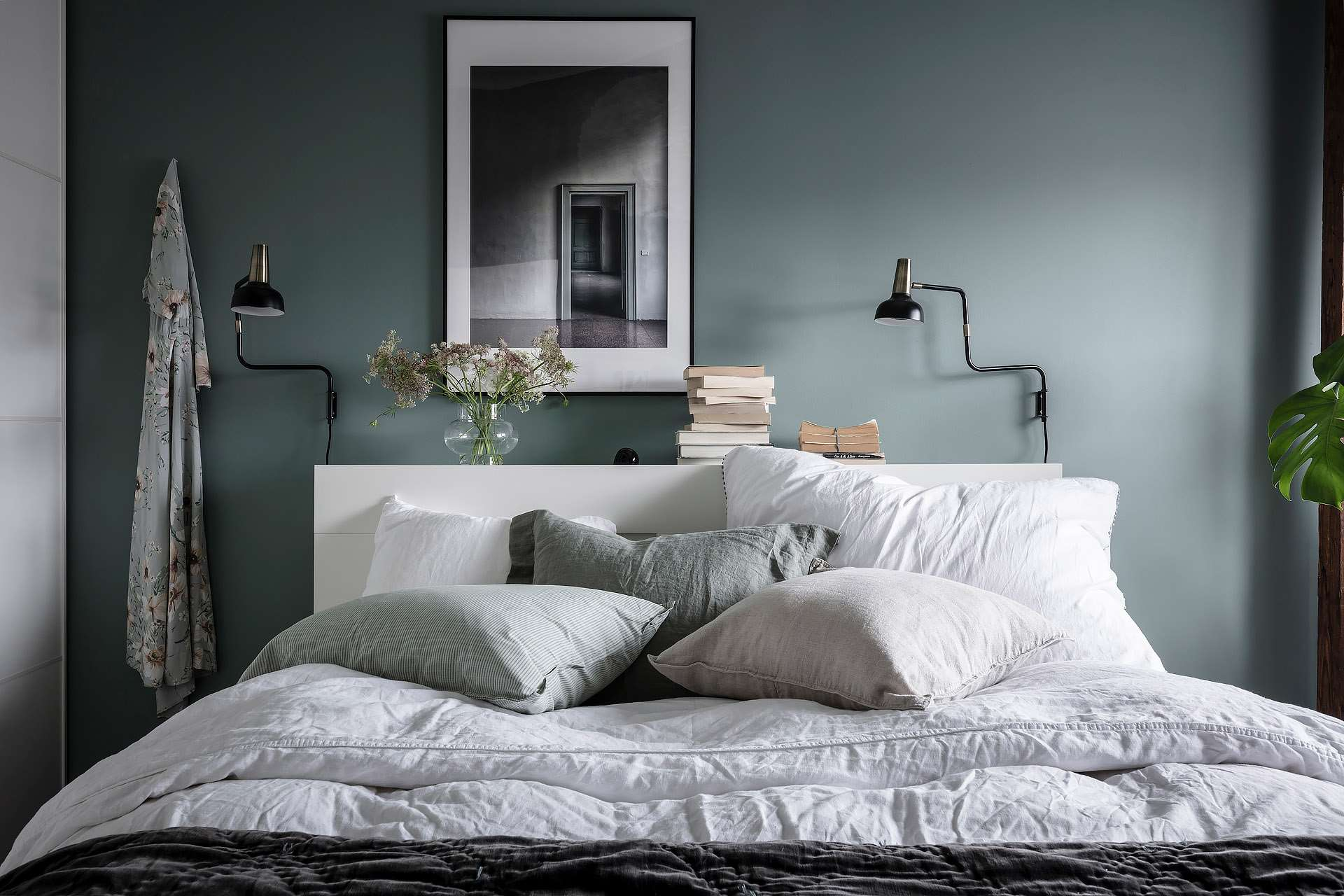 Go for Color in the Bedroom to keep things from feeling boring!