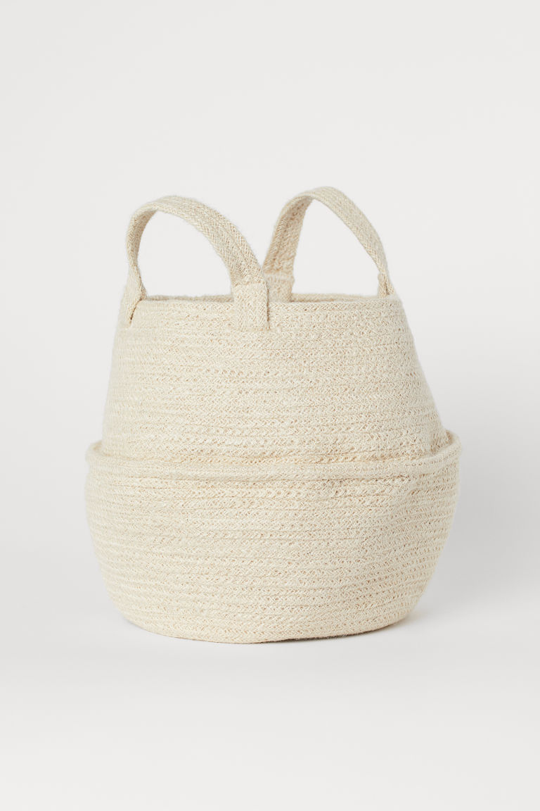 Jute Basket $13